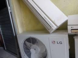 ar condicionado 30 e 12 mil btus lg.