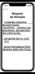 Iphone 6s e X leia!