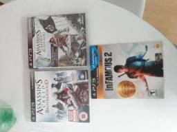 Vendo 3 Jogos de PS3 Original