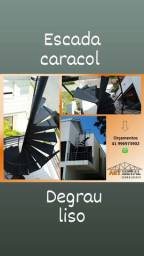 Escada caracol & Serralheria em Geral.