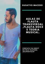 Professor de Música, Flauta Transversal e Flauta Doce