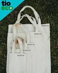 Ecobags 100  algodão Personalizada ou lisas