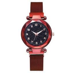 Relógios femininos direto da Turquia pulseira magnética