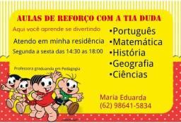AULAS DE REFORÇO