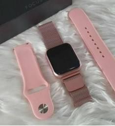 Smartwatch P70 versão PRO com 2 pulseiras ( Loja física )