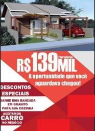 DP|CA0270-Linda casa geminada no Rio Vermelho de dois dormitórios sendo um suíte