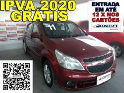 Chevrolet agile 2011 1.4 mpfi ltz 8v flex 4p manual - 2011