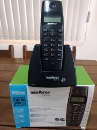 Telefone Intelbras digital pouco usado