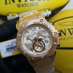 49c9d93203f Relógio invicta 19529 swiss banhado a ouro Importado EUA original!