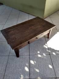 Mesa de centro em madeira demolição