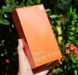 Xiaomi Note 6 Pro LACRADOS - 64Gb 4GB RAM - PRETO (VERSÃO GLOBAL)