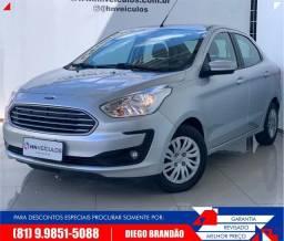 Ford Ka Sedan 1.0 2019 + Garantia + IPVA 2020. Diego (81) 9.9851.5088