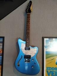 Guitarra Tagima Semi Acústica Jet Blues Lake Placid Blue AZUL