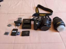 Câmera profissional Nikon D3100