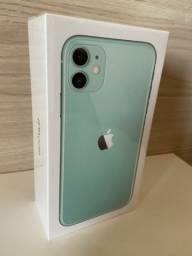 iPhone 11 verde 1 ano de garantia novo lacrado