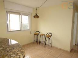 Apartamento com 1 dormitório para alugar, 34 m² por R$ 500,00/mês - Centro - Pelotas/RS