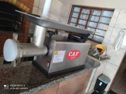 Moedor industrial marca CAF modelo 22 inox semi novo