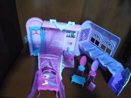 Casa da Barbie Quarto da Princesa Maleta Original Mattel