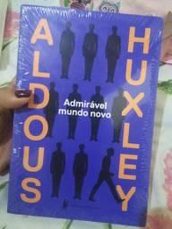 Livro: Admirável mundo novo. Aldous Huxley. R$25.00
