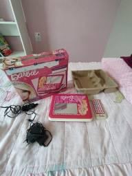 Dvd Portátil Da Barbie Tectoy (com Tela Giratória e entrada USB)