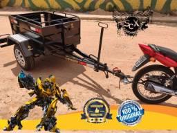 Reboque para motos! O mais forte do brasil