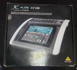 Mesa de som digital behringer X18