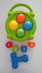 Brinquedo bebê Tamborzinho de Atividades - Baby - Dican
