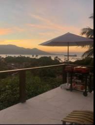Casa em ilhabela com vista maravilhosa locação para curtas estadias, 1000diária