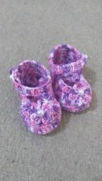 Conjunto em Crochê para bebê