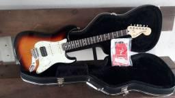 Guitarra Fender Stratocaster Deluxe Lonestar impecável