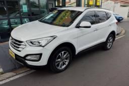 Hyundai Santa Fe 3.3 V6 Branca 2015 - Impecável
