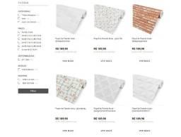 Vendo E-commerce de Papel de Parede Adesivo - Plotter