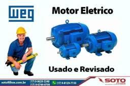 Motor eletrico weg profissional - preço bom