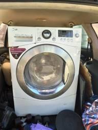 Máquina lava e seca LG com defeito