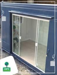 Comercio ou Residência em Container Reefer 15m²