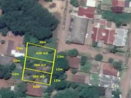 3 terrenos bairro campestre SL - R$ 120.000 cada