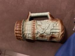Caneca cerâmica antiga (raridadade- 1975)