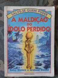Livro- A maldição do Ídolo Perdido