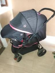 Carrinho de passeio+ bebê conforto