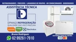 Assistência técnica especializada e instalação em Ar condicionado