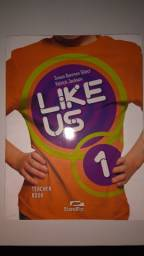 Livro Like US 1 Teacher Book c/ cd