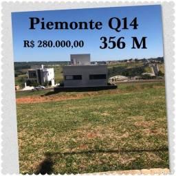 Vendo lote / terreno condomínio Piemonte