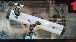 Telescópio RefletorTasco Luminova 420x Lentes 3X Barlow