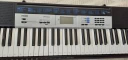 Piano/teclado casio ctk-1550 semi-novo