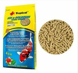 Racao peixes lago tropical 4 kg