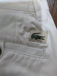 Calça Branca Lacoste Original importada