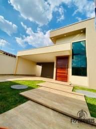 Casa 3Q 1S com Piscina, área Gourmet e churrasqueira no Recanto do Bosque em Goiânia