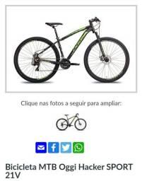 Bicicleta MTB Oggi Hacker SPORT 21V<br><br>