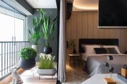 Apartamento de 1Q na planta , Hub compact life city