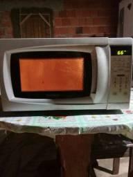 microonda barato com defeito